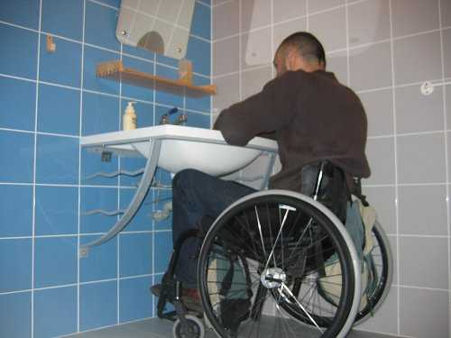 Lavabo Hauteur Handicapés : Guide accessible pour personnes handicapées hebergement